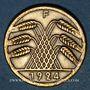 Monnaies Allemagne. République de Weimar. 50 rentenpfennig 1924 F