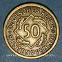 Monnaies Allemagne. République de Weimar. 50 rentenpfennig 1924 G