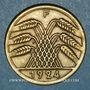 Monnaies Allemagne. République de Weimar. 50 rentenpfennig 1924F