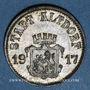 Monnaies Altdorf. Ville. 50 pfennig 1917