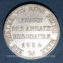 Monnaies Anhalt-Bernbourg. Alexandre-Charles (1834-1863). Taler de mines Ausbeutetaler 1834
