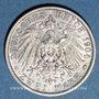 Monnaies Anhalt. Frédéric II (1904-1918). 2 mark 1904A