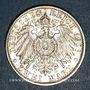 Monnaies Bade. Frédéric I, grand-duc (1856-1907). 2 mark 1906. Noces d'or