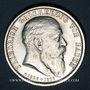 Monnaies Bade. Frédéric I, grand-duc (1856-1907). 2 mark 1907G. Commémoration de sa mort