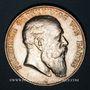 Monnaies Bade. Frédéric I, grand-duc (1856-1907). 5 mark 1904G