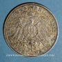 Monnaies Bade. Frédéric II (1907-1918). 3 mark 1911 G