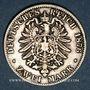 Monnaies Bavière. Louis II (1864-1886). 2 mark 1876D