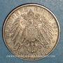 Monnaies Bavière. Luitpold, prince régent (1886-1912). 2 mark 1911D