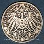 Monnaies Bavière. Otto (1886-1913). 2 mark 1893D