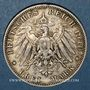 Monnaies Bavière. Otto (1886-1913). 3 mark 1910D