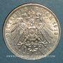 Monnaies Bavière. Otto (1886-1913). 3 mark 1913D