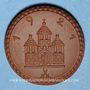 Monnaies Freiberg. 50 pf 1921. Porcelaine