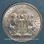 Monnaies Hambourg. Ville. 3 mark 1911J