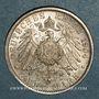 Monnaies Hesse. Ernest-Louis (1892-1918). 2 mark 1904A