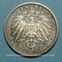 Monnaies Mecklembourg-Schwerin. Frédéric François IV (1897-1918). 2 mark 1904A