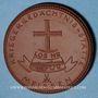 Monnaies Meissen. Krieger Gedächtnis Stätte. Médaille 1923. Porcelaine. 41,42 mm. N° 7560