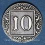 Monnaies Münster i Westf. Ville. 10 pfennig 1918. Fer