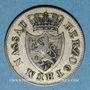 Monnaies Nassau. Guillaume (1816-1839). 3 kreuzer 1833