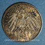 Monnaies Prusse. Guillaume II (1888-1918). 2 mark 1901. Bicentenaire