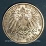 Monnaies Prusse. Guillaume II (1888-1918). 3 mark 1913A Jubilé