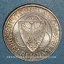 Monnaies République de Weimar. 3 reichsmark 1930 F. Rheinlandräumung