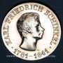 Monnaies République Démocratique allemande, 10 mark 1966, 125e anniversaire de K. F. Schinkel