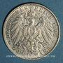 Monnaies Saxe. Frédéric Auguste III (1904-1918). 2 mark 1905 E