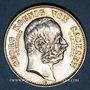 Monnaies Saxe. Georges (1902-1904). 2 mark 1904E. Commémoration de sa mort