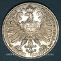 Monnaies Saxe-Weimar-Eisenach. Guillaume Ernest (1901-1918). 3 mark 1915A