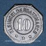 Monnaies Schlierbach. Wächtersbacher Steingutfabrik. 10 pfennig n.d. Fer