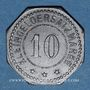 Monnaies Schlierbach. Wächtersbacher Steingutfabrik. 10 pfennig n.d.