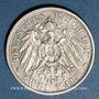 Monnaies Wurtemberg. Guillaume II (1891-1918). 2 mark 1907F