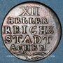 Monnaies Aix-la-Chapelle. 12 heller 1793