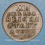 Monnaies Allemagne. Aix-la-Chapelle. 12 heller 1794