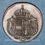 Monnaies Allemagne. Possessions autrichiennes. Joseph II (1780-1790). 1 heller 1789H. Hall