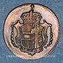 Monnaies Allemagne. Possessions autrichiennes. Joseph II (1780-1790). 1 heller 1790H. Hall