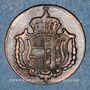 Monnaies Allemagne. Possessions autrichiennes. Joseph II (1780-1790). 1 heller 1792H. Hall