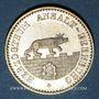 Monnaies Anhalt-Bernbourg. Alexandre Charles (1834-1863). 1/6 taler 1856A