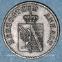 Monnaies Anhalt-Köthen. Henri (1830-1847). 1 pfennig 1862A