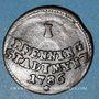 Monnaies Augsbourg. Ville. 1 pfennig 1786