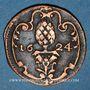 Monnaies Augsbourg. Ville. Scheffelmarke (marque de boiseau) 1624