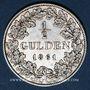 Monnaies Bade. Frédéric I, grand duc (1856-1907). 1/2 gulden 1861
