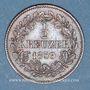 Monnaies Bade. Frédéric I, grand duc (1856-1907). 1/2 kreuzer 1859