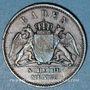 Monnaies Bade. Frédéric I, grand duc (1856-1907). 1/2 kreuzer 1863