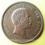 Monnaies Bade. Frédéric I, grand duc (1856-1907). 1 kreuzer 1856