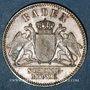 Monnaies Bade. Frédéric I, grand duc (1856-1907). 3 kreuzer 1866