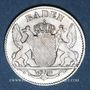 Monnaies Bade. Léopold (1830-1852). 3 kreuzer 1842