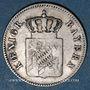 Monnaies Bavière. Louis I (1825-1848). 6 kreuzer 1851