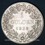 Monnaies Bavière. Louis I (1825-48). 1 gulden 1838