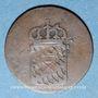 Monnaies Bavière. Maximilien I Joseph (1806-1825). 1 pf 1816